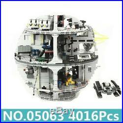 05063 Star Wars 4016pcs Death Star Force Waken UCS Building Blocks Compatible