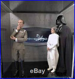 1/6 Death Star Window Deluxe Diorma with 15 LED screen Diorama for Hot Toys