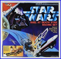 1978 Power Passers Star Wars Duel at Death Star Slot Car Racing Set CAS 85