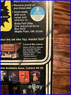 1978 Star Wars Death Star Droid 20 Back MOC Free Boba Fett Offer Unpunched