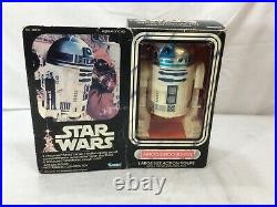 1978 Vintage Star Wars R2D2 Droid Figure Complete Boxed 12 Inch Death Star Plan