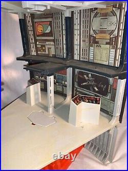 1979 Vintage STAR WARS DEATH STAR Playset DIANOGA Monster figure NEAR COMPLETE