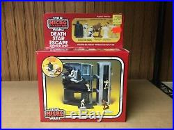 1982 Kenner Star Wars micro collection SEALED Death Star escape RARE