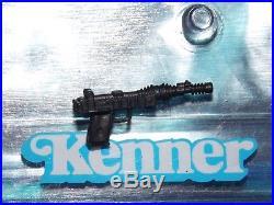 1984 1985 Star Wars POTF 17 A Wing Pilot Imperial Death Star Gunner blaster gun
