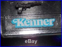 1985 Star Wars POTF 17 A Wing Pilot Death Star Imperial Gunner BLACK blaster gun