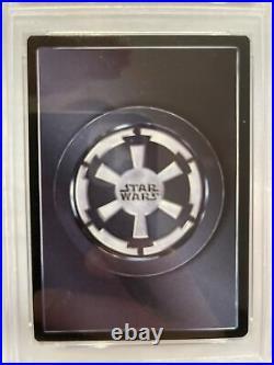 2000 Star Wars CCG Emperor Palpatine Death Star II PSA 6. Ultra Rare. Pop 1