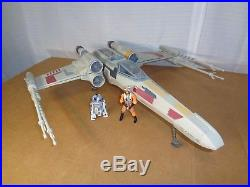 2011 Star Wars Death Star Trench Run X-Wing Toys R Us Exclusive with Luke & R2-D2