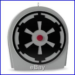 2016 HALLMARK Death Star Tree Topper Disney STAR WARS Darth Vader Skywalker
