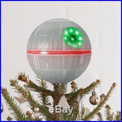 2017 Hallmark Keepsake Star Wars Death Star Tree Topper, 6.3 Ornament NIB