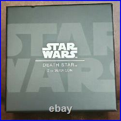 2018 Star Wars NIUE NGC PF 70 Ultra Cam 2oz Silver $5 DEATH STAR 1st Release