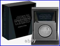 2020 Niue S$2 Star Wars Death Star With Mint Box & COA OGP