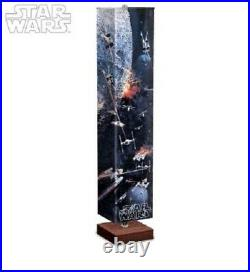 5FT The STAR WARS Battle Of The Death Star Floor Lamp Cert. Of Authenticity