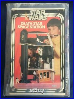 AFA 85 NM+ 1979 Kenner Death Star Space Station Playset Highest Graded Example