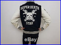 Adidas x Star Wars Super Death Star Stormtrooper Varsity Jacket College Jacke 54