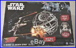 Air Hogs Star Wars X wing vs Death Star Rebel Assault Drone Ages 8+ Plane Boys