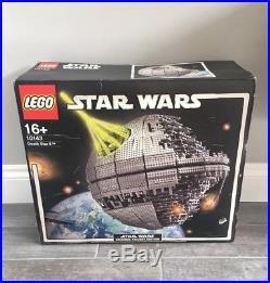 BOX SEALED Star Wars Lego 10143 Death Star II Original UCS Edition
