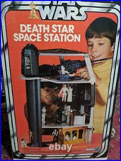 Complete Vintage 1978 Kenner Star Wars Death Star Space Station Playset with Box
