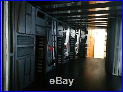 Custom Star Wars Diorama, Death Star corridor