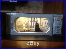 Custom Star Wars diorama deathstar