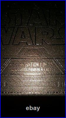 D23 2015 Disney EXCLUSIVE Star Wars Death Star Watch LE 300 Darth Boba Fett Luke