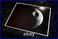 DEATH STAR Large Screen-Used PROP STAR WARS IV, COA London Props, DVD Lit CASE