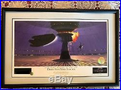 DEATH STAR MAIN REACTOR STAR WARS Ralph McQuarrie signed Lithograph, LAST ONE