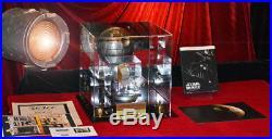 DEATH STAR Screen-Used Prop STAR WARS IV, COA London Prop Store, DVD, Lit CASE