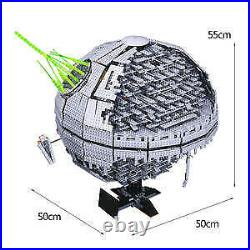 Death Star Custom Lego with laser dark side star wars space ship darth vader