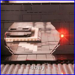 Death Star Docking Bay 327 Hanger with LED Lights Kits for Millennium Falcon