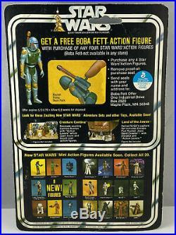 Death Star Droid 20 Back C Vintage Kenner Star Wars MOC 1978 HK Boba Fett Offer