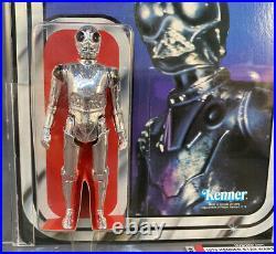 Death Star Droid 21A-Star Wars Kenner 1979 MOC AFA 80