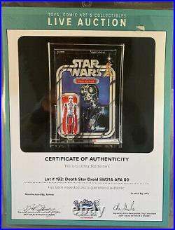 Death Star Droid 21A-Star Wars Return of the Jedi (ROTJ) Kenner 1983 MOC AFA 80