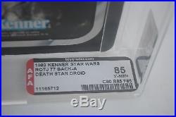 Death Star Droid -Star Wars Return of the Jedi (ROTJ) Kenner 1983 MOC AFA 85