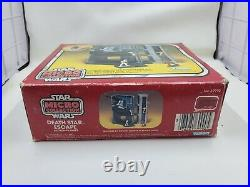 Death Star Escape Playset Sealed Box Micro Collection Vintage Star Wars 1982 L64