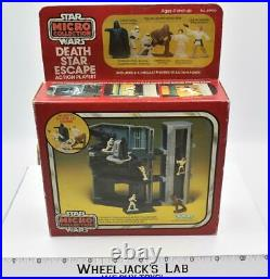 Death Star Escape Playset UNUSED WithBox Micro Collection Vintage Star Wars 1982