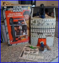 Death Star Space Station Playset 1978 STAR WARS VINTAGE 100% Complete w BOX Foam