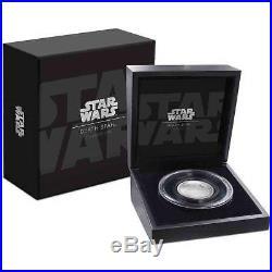 Death Star Star Wars 2018 2 Oz Ultra High Relief Fine Silver Niue Nz Mint