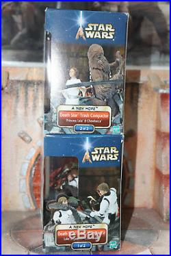 Death Star Trash Compactor Set 1 & 2 Star Wars SAGA 2002