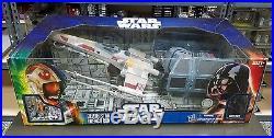 Death Star Trench Run STAR WARS Toys R Us TRU Exclusive X-WING TIE FIGHTER