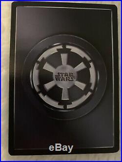 Decipher Star Wars CCG Emperor Palpatine Death Star II UR Ultra Rare