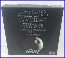 Efx Star Wars Celebration Death Star High Altitude Surface Modules Prop Signed