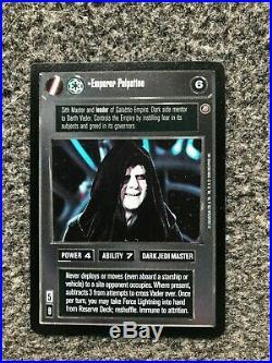 Emperor Palpatine Star Wars CCG Death Star II Ultra Rare (SWCCG)