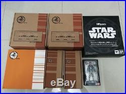 GTP Walls, Luke Skywalker Sh Figuarts and Death Star Diorama Star Wars Lot