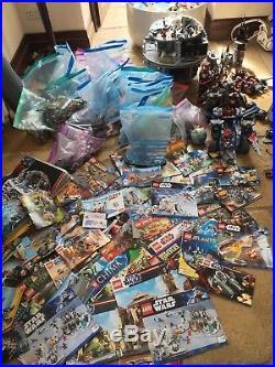 HUGE Lego Bundle Star Wars Death Star Harry Potter Monster Fighters Ninjago