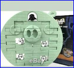 Hasbro Rovio Angry Birds Star Wars Jenga Death Star Board Game Nib Rare Xmas