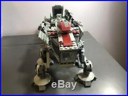 Incomplete LEGO Star Wars Republic Dropship AT-OT WALKER ONLY 10195 AT-OT ONLY