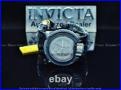Invicta 52mm Star Wars L Ed Bolt Magnum DEATH STAR Titanium Tone Dial Watch