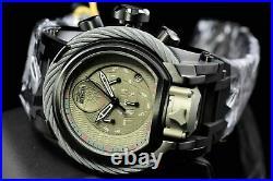 Invicta 52mm Star Wars Lim Ed Bolt Magnum Death Star Titanium Tone Dial Watch