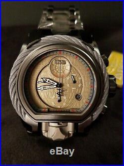Invicta Limited Edition Star Wars Empire Death Star Magnum Watch Dual Swiss Mvmt