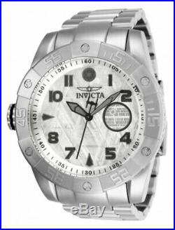 Invicta Silver Death Star Wars Pro Diver Lefty Ltd Ed Automatic Meteorite Watch